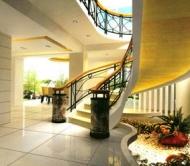 hallway of a villa