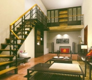 Staircase and Living Room Chineseness/Oriental Style