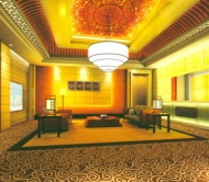 A Lobby of the Place of Entertainment