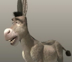 Shrek Donkey Model