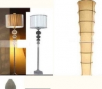 Floor lamp 3D Model of 4