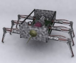 Spider-shaped robot 3D Models
