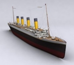 3D model of RMS Titanic