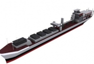 3D Model of Container ship