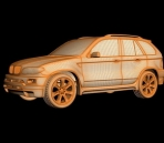 The 3D model of BMW X5