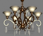 European-style chandeliers Model 1-5 months