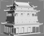 Multi-layer model of ancient architecture