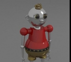 3D model of the machine kids