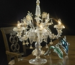 Crystal table lamp Model 08