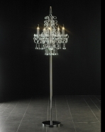 Crystal floor lamp 3D Model 06