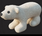Bear Toy 3D Model of 2