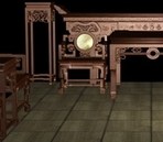 Chinese Furniture Model 4 sets (a set of model Throne)