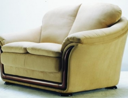Wheat back cushion love seat