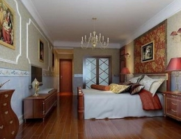 Occident bedroom