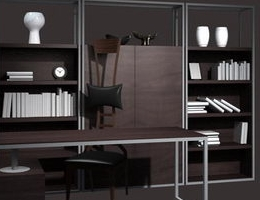 Study-room Furniture Bookcase Desk Chair