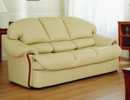 Big beige sofa