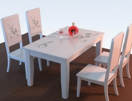 Solid wood furniture(white)