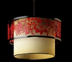 Lampe suspension de style chinois-1