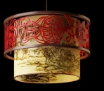Lampe suspension de style chinois-2