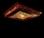 Chinese style red hollow ceiling Lamp