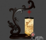 Chinese-style wooden lamp-1