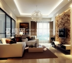 Light colored modern style living room-2