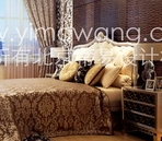 Classical European luxury bedroom