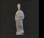 Modelo de la estatua de caracteres-3