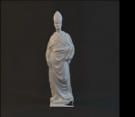 Mod¨¨le de la statue de caract¨¨res-3