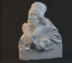 Modelo de la estatua de caracteres-4