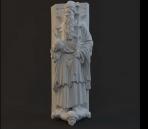 Modelo de la estatua de caracteres-5