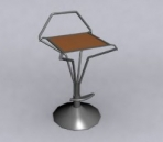 Bar chair with
