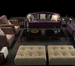Continental sofa combination