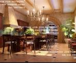 Palacio de estilo europeo en el gran comedor