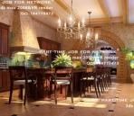 De lujo de estilo europeo restaurante