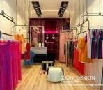 Una pequeña tienda de ropa