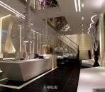 Jewelry stores, luxury shops\